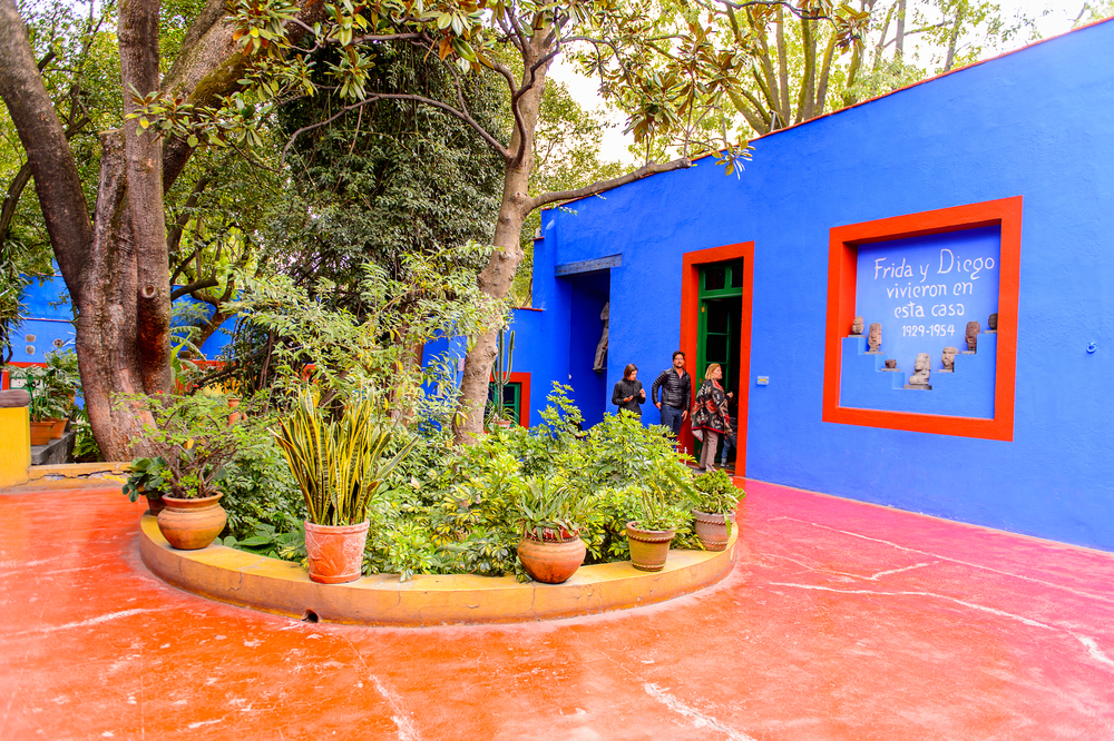 Frida Kahlo Museum in Mexico City.