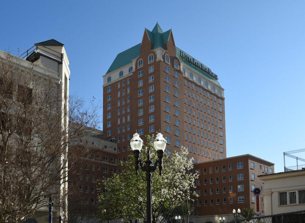 Paso del Norte Hotel in El Paso, Texas.