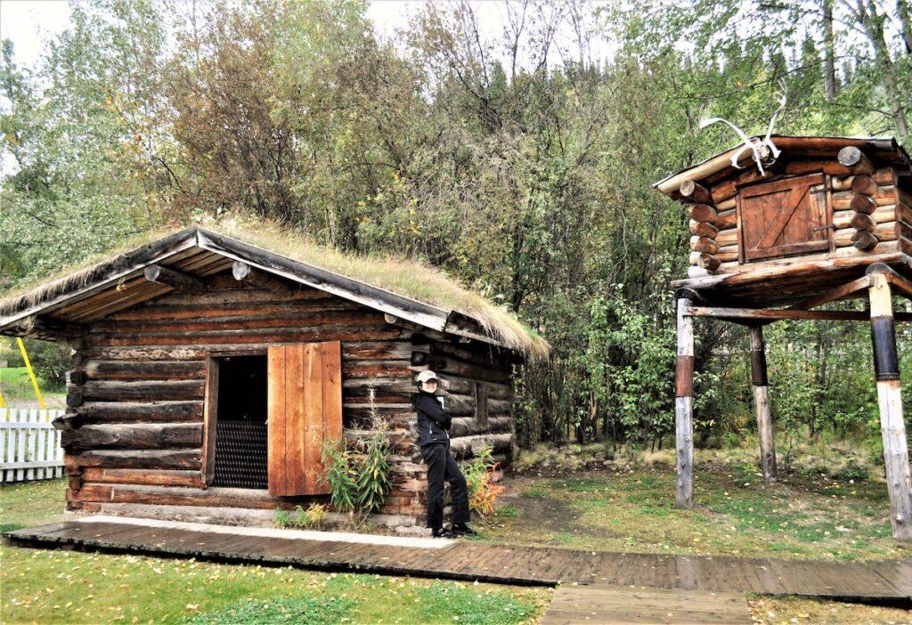 Jack London's cabin.