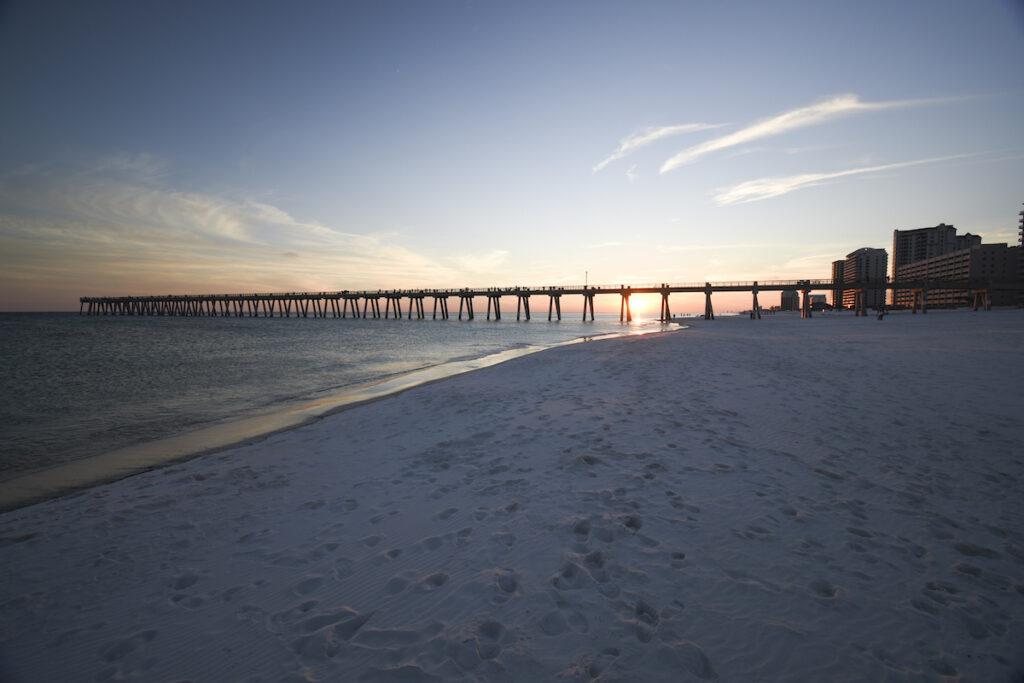 Navarre Beach Pier.
