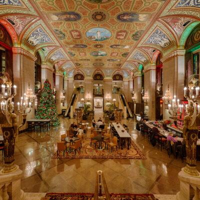 Palmer Hotel in Chicago, Illinois.