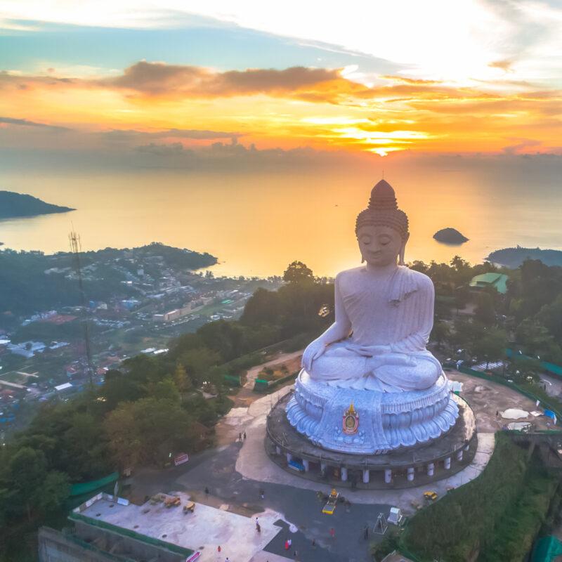 Big Buddha in Phuket, Thailand.