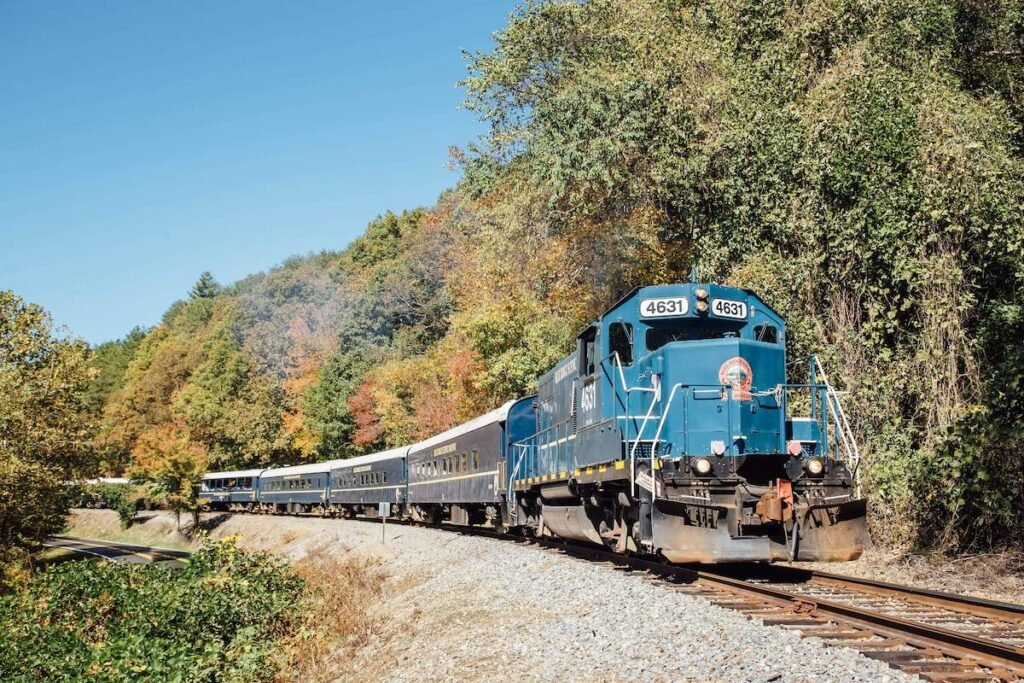 Blue Ridge Scenic Railway.
