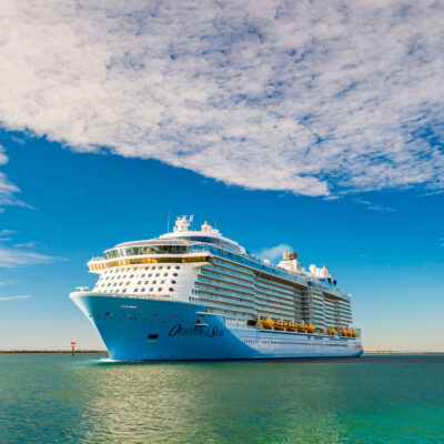 Ovation of the Seas, Royal Caribbean cruise ship.