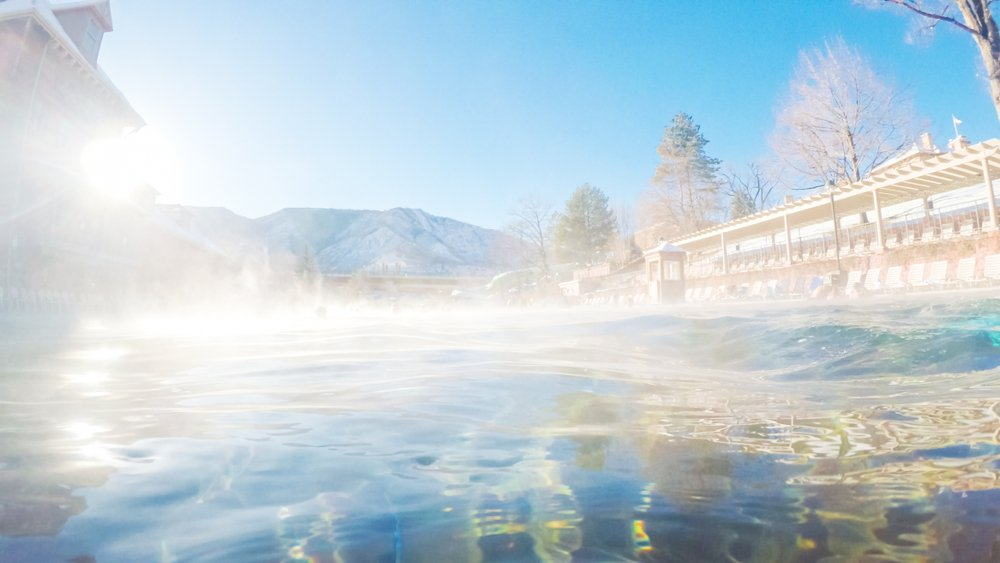 Glenwood Hot Springs Resort, Colorado.