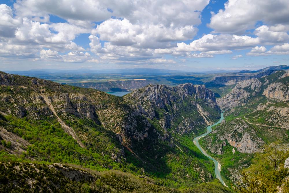 Gorges du Verdon panoramic, Provence, France.