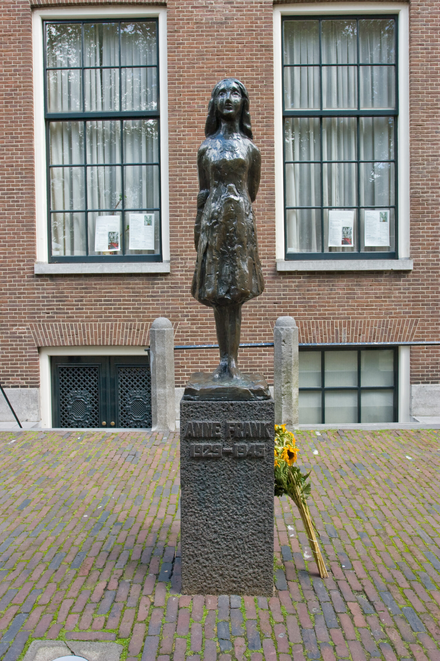 Photo of Anne Frank house in netherlands