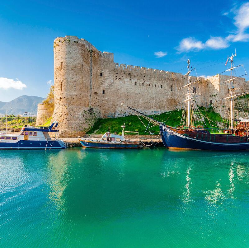 Kyrenia Castle in Northern Cyprus.