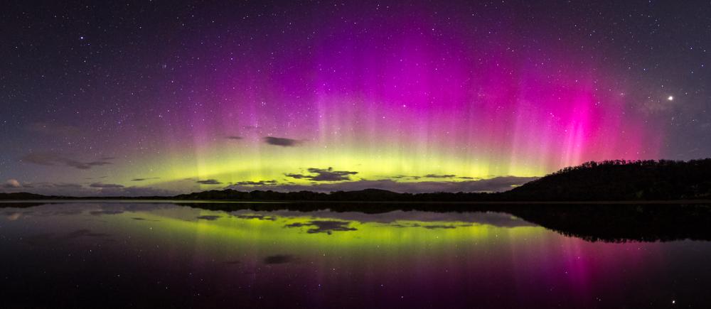aurora Australias southern lights Tasmania, Australia
