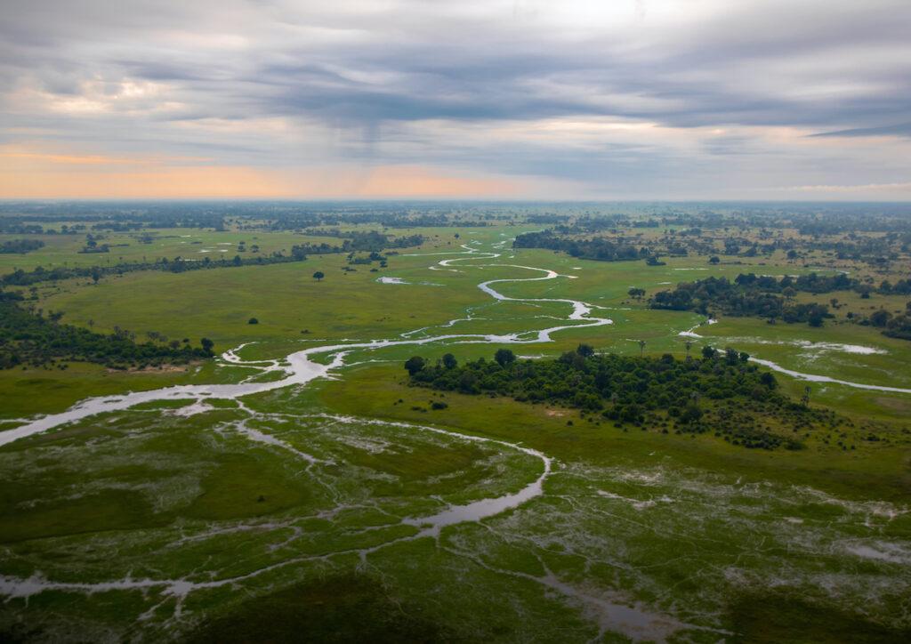 Okavanga Delta in Botswana.