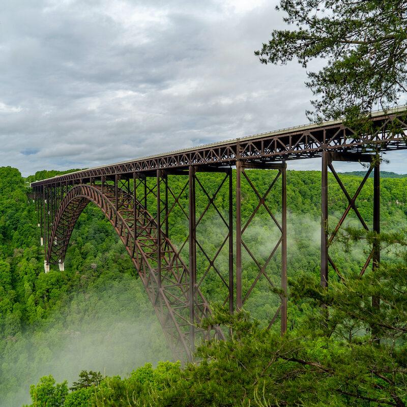 New River Gorge Bridge.