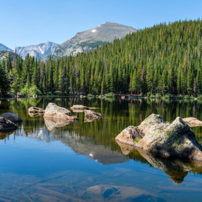 Bear Lake Rocky Mountain National Park, Colorado, USA.