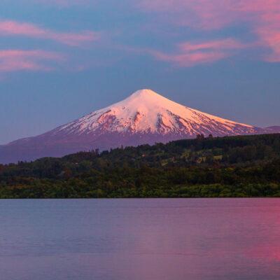 Villarrica Volcano in Chile.