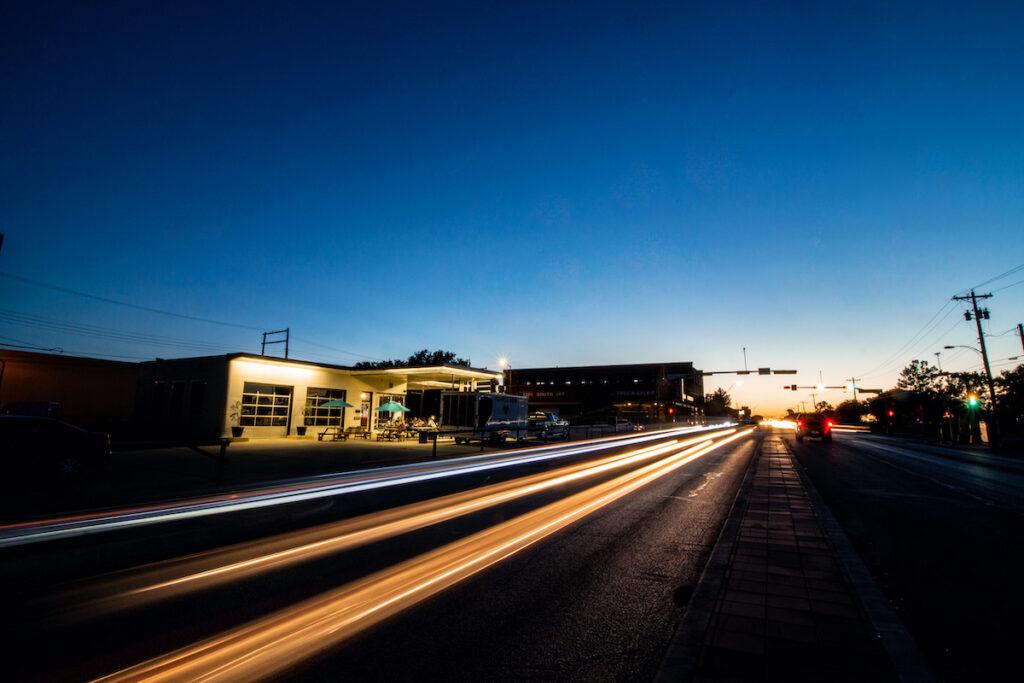 Downtown Abilene, Texas.