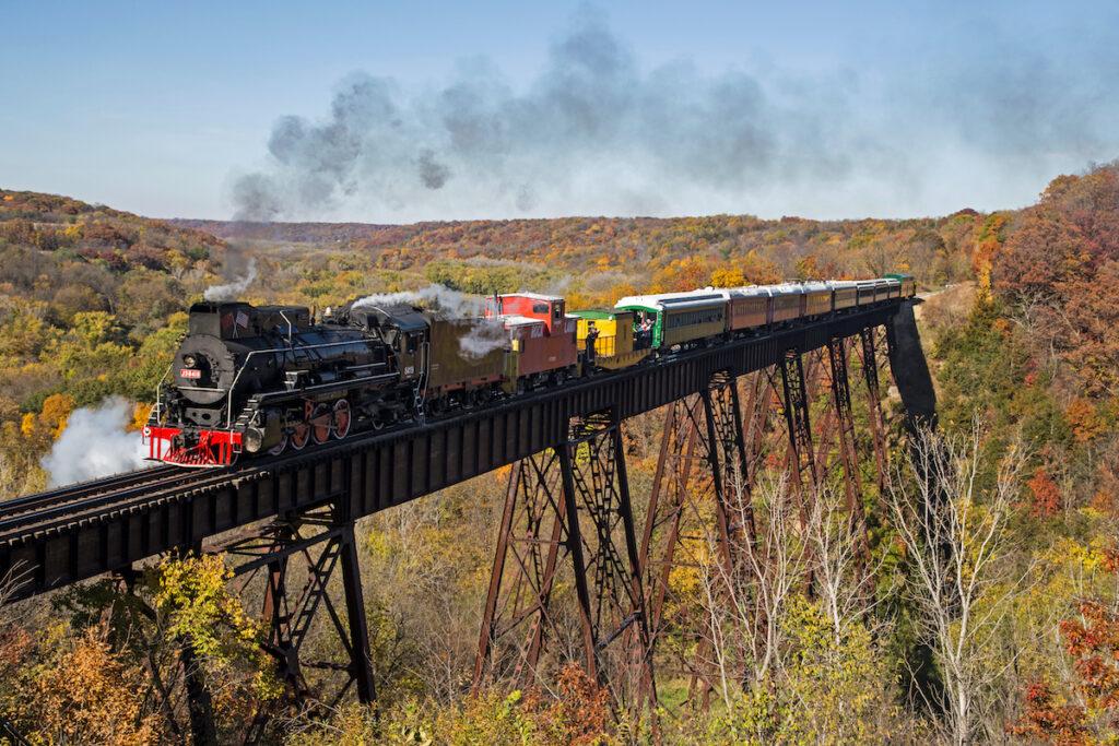 Boone Scenic Valley Railroad.