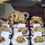 White truffles in Alba, Italy.
