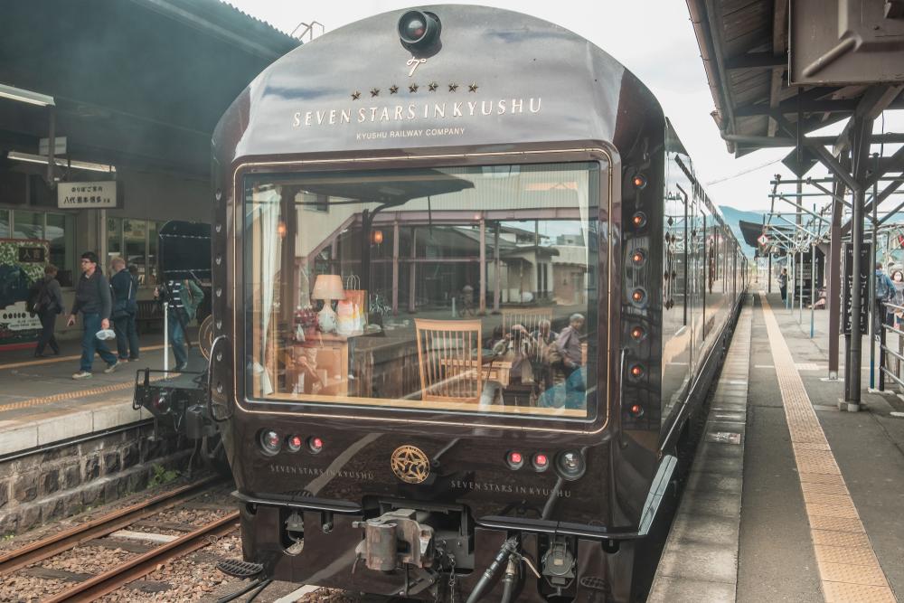 Seven Stars train Japan