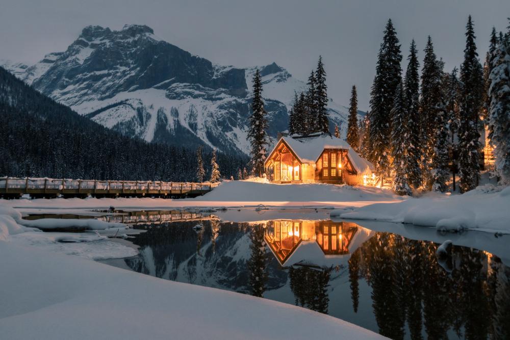 Emerald Lake Lodge Yoho National Park, British Columbia, Canada