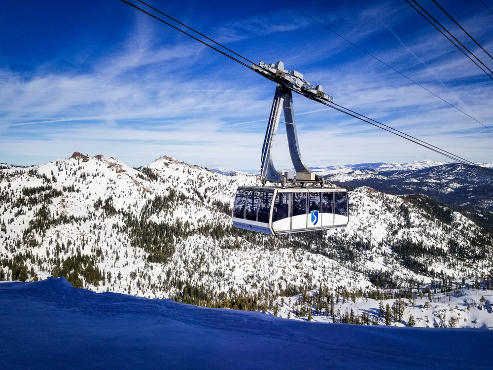 Aerial Tram at Squaw Valley