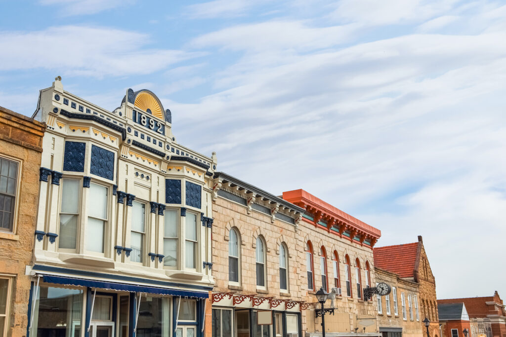 Mineral Point, Wisconsin.