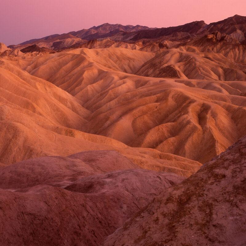 Sunrise Zabriskie Point, Furnace Creek, Death Valley National Park