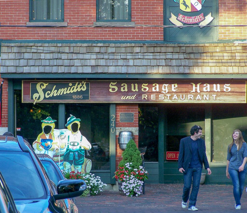 Schmidt's Sausage Haus in German Village, Columbus.