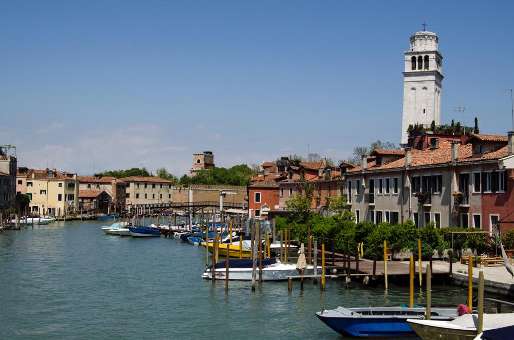 Bell Tower Of Basilica Di San Pietro Di Castello, Venice