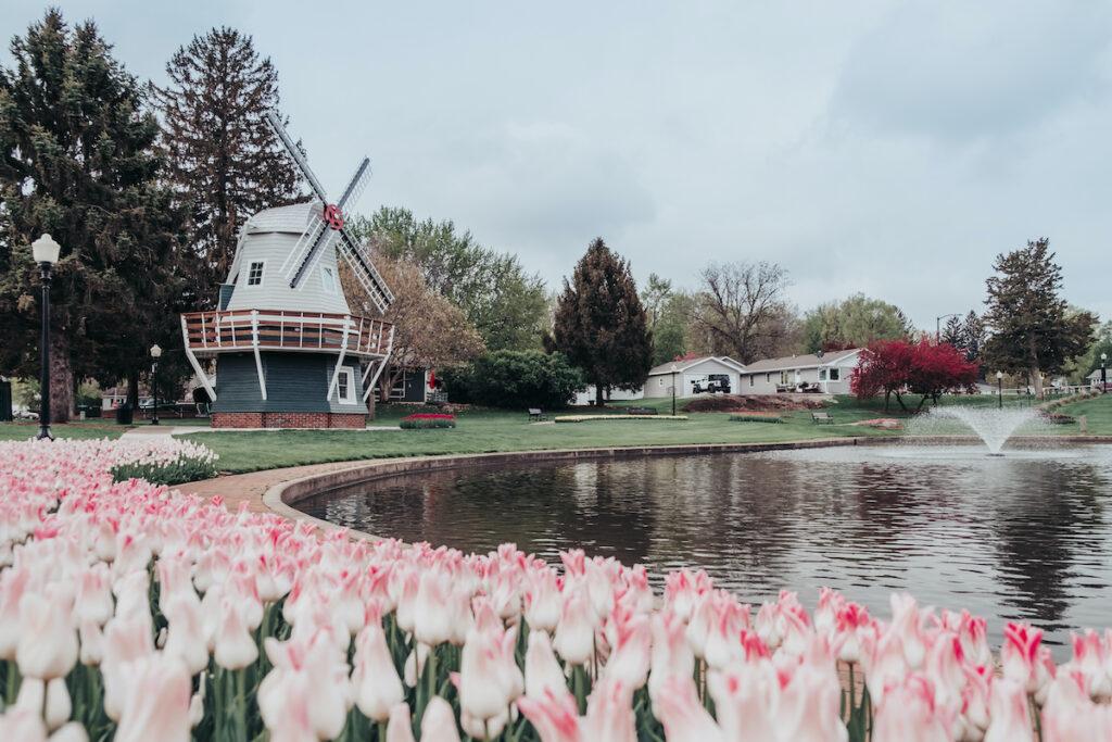 Dutch windmill in Pella, Iowa.
