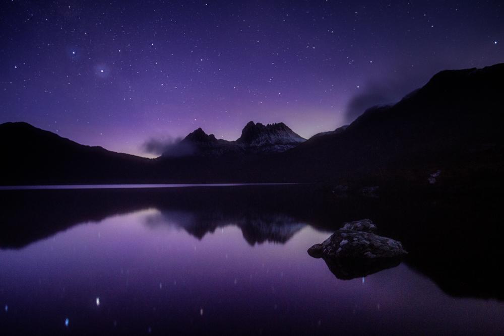Tasmania Mt. Cradle southern aurora