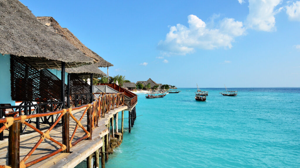 Changuu Island in Zanzibar.