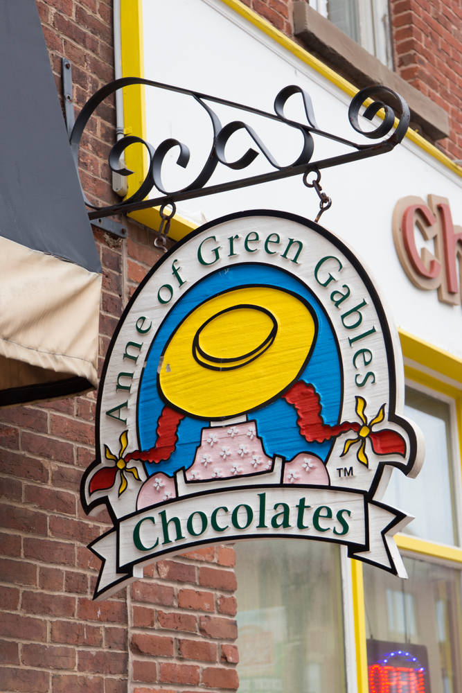 Anne of Green Gables Chocolates shop.