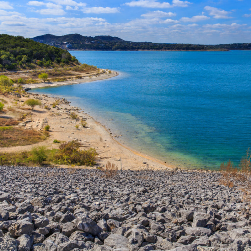 Canyon Lake in the Texas Hill Country.