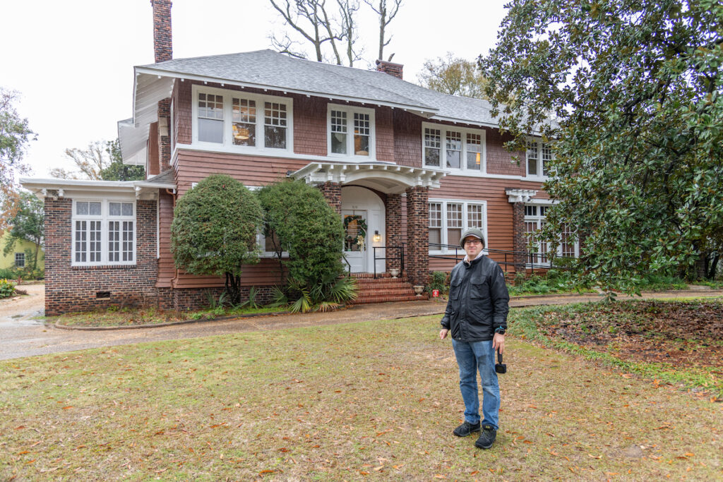 The Scott and Zelda Fitzgerald Museum and home in the city of Montgomery, Alabama.