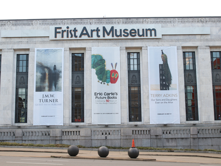 Frist Art Museum in Nashville,  Tennessee.
