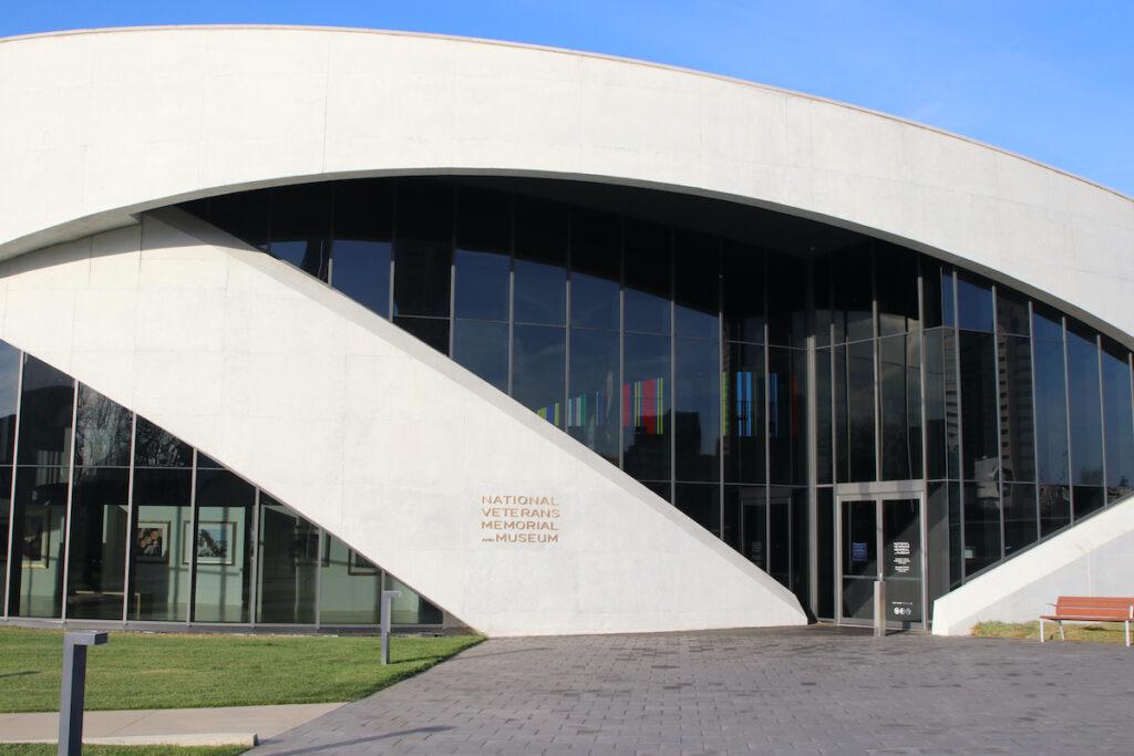 National Veterans Memorial and Museum in Columbus, Ohio.