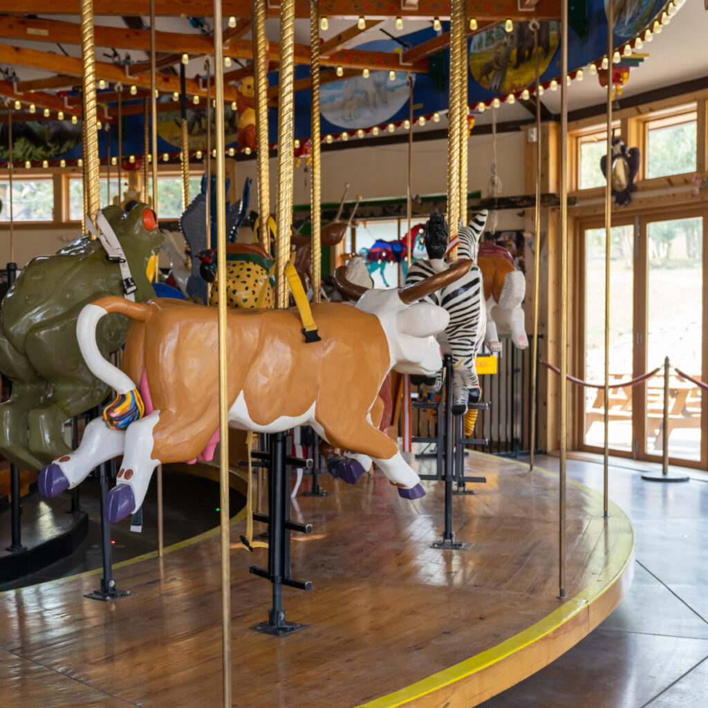 The Carousel of Happiness in Nederland, Colorado.