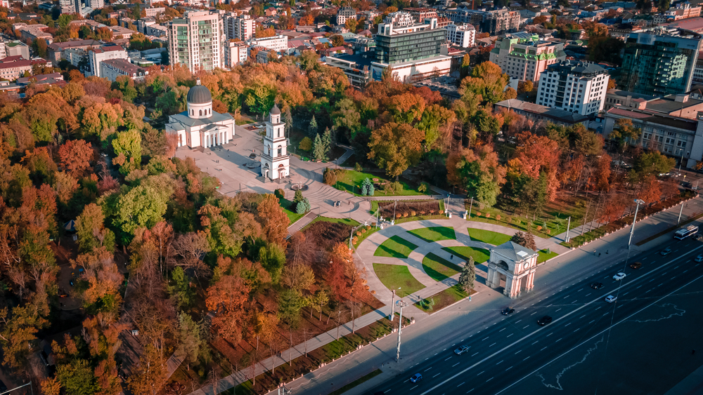 The Metropolis of Chisinau and All Moldova, the largest church in the country