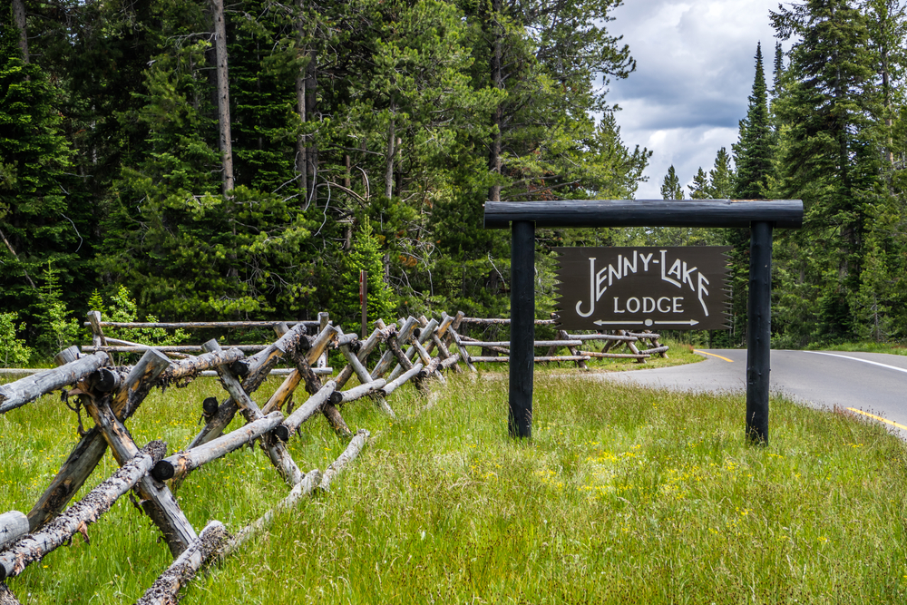 The Jenny Lake Lodge Grand Tetons National Park, Wyoming