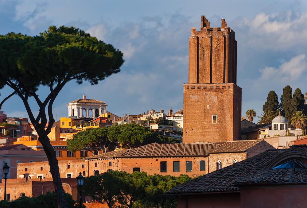 Torre delle Milizie Rome, Italy