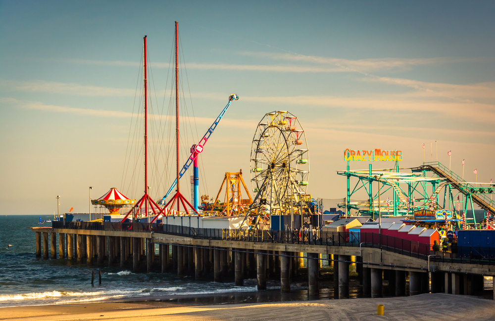 The Steel Pier at Atlantic City, New Jersey