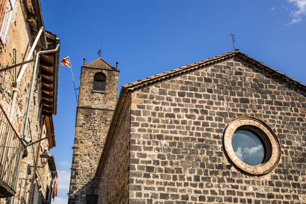 Building in Castellfollit de la Roca.