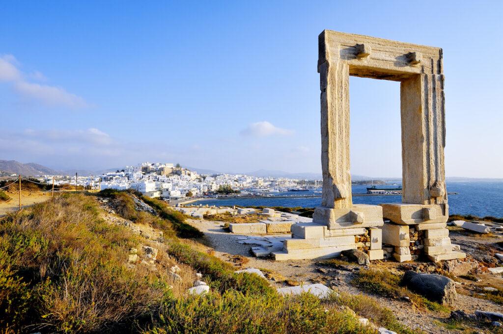 Portata Gate, Naxos island, Greece.