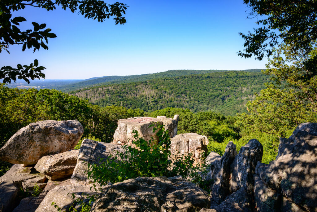 Catoctin Mountain State Park in Maryland.