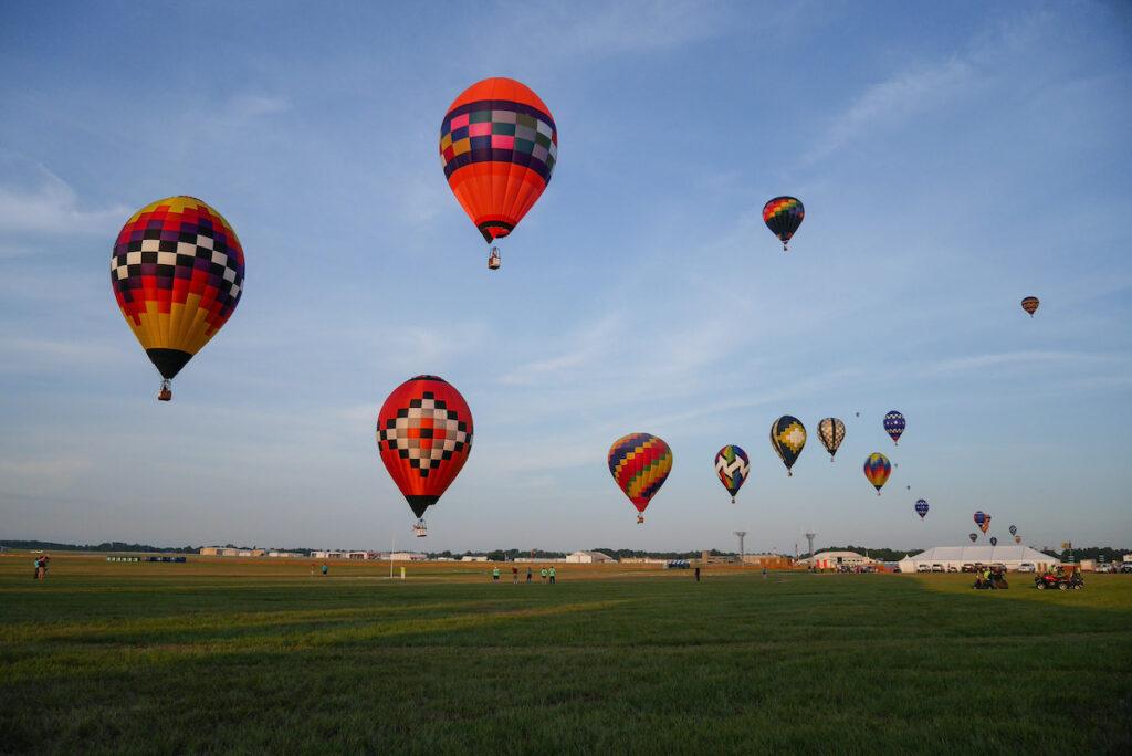 Great Texas Balloon Race.