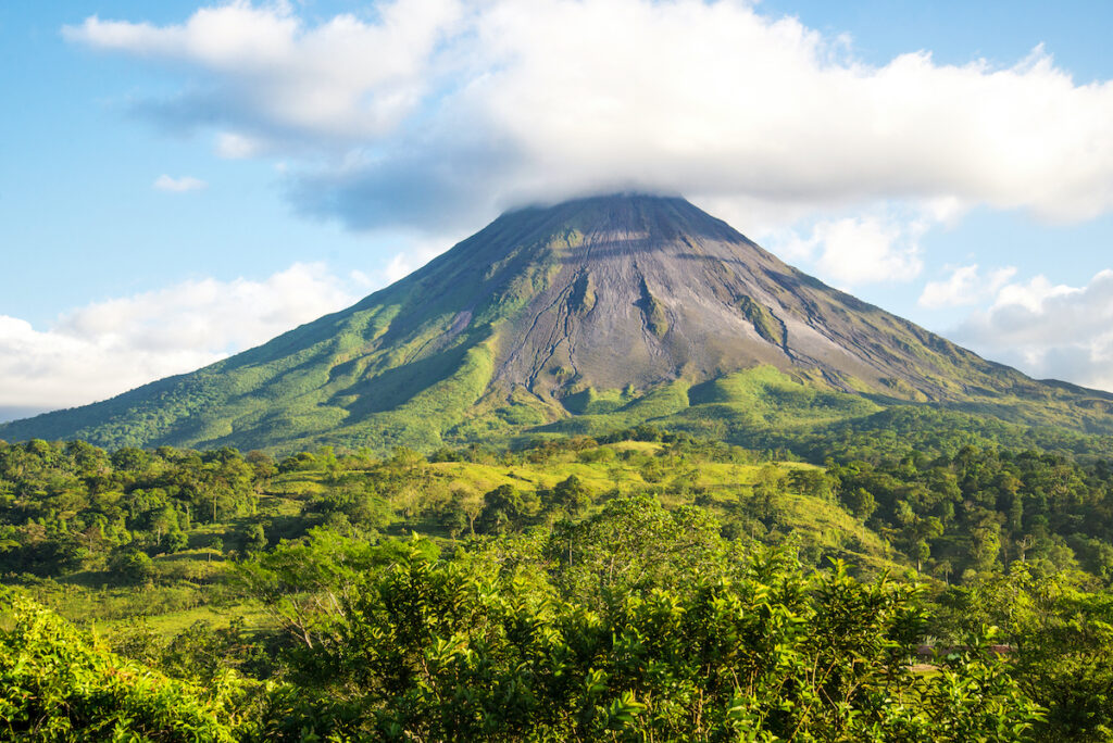 Arenal in Costa Rica.