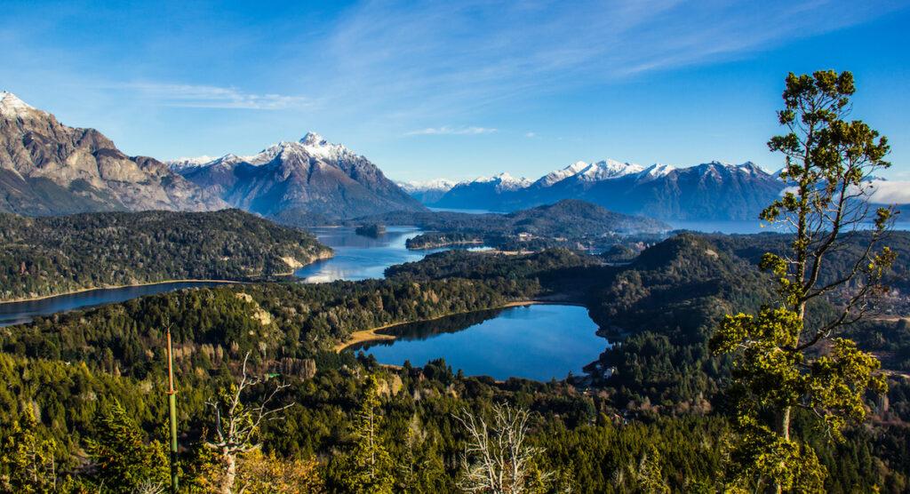 Nahuel Huapi Lake in Argentina.