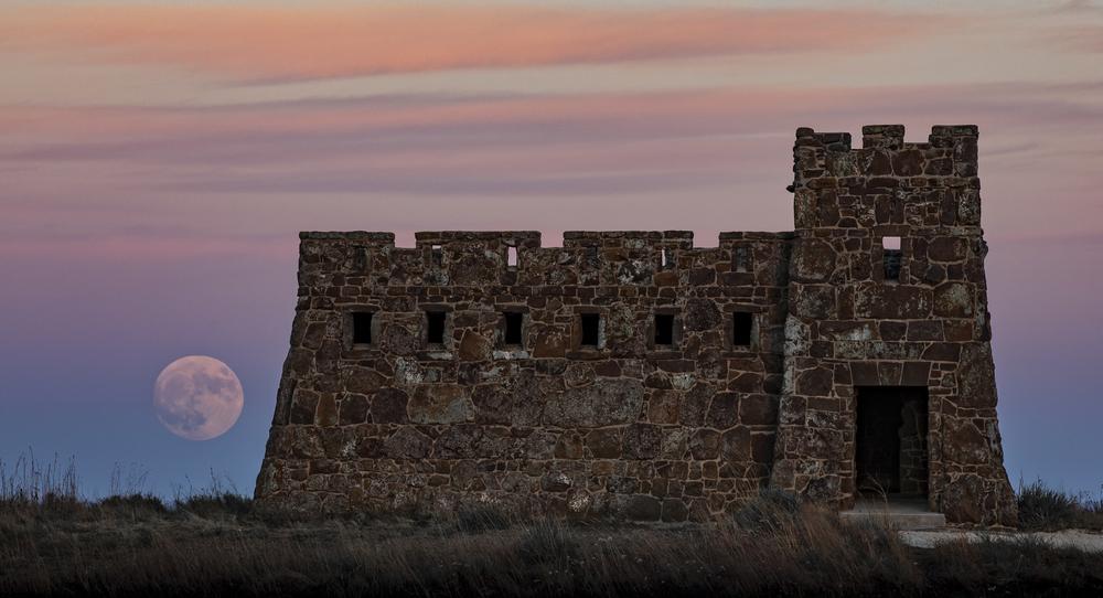 Coronado Heights Castle Lindsborg, Kansas