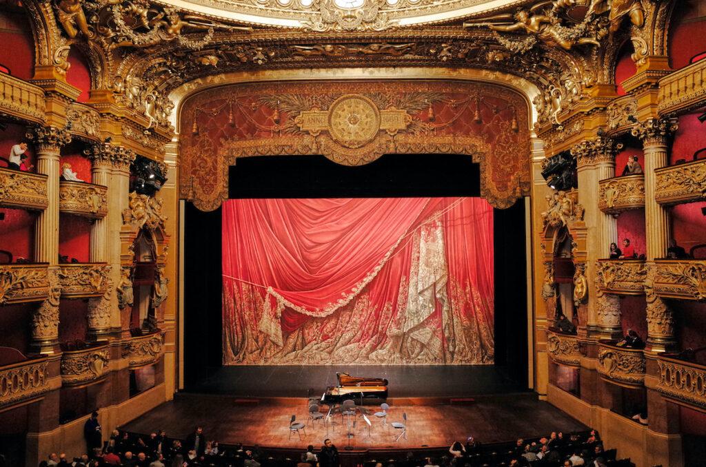 The opera in Paris.
