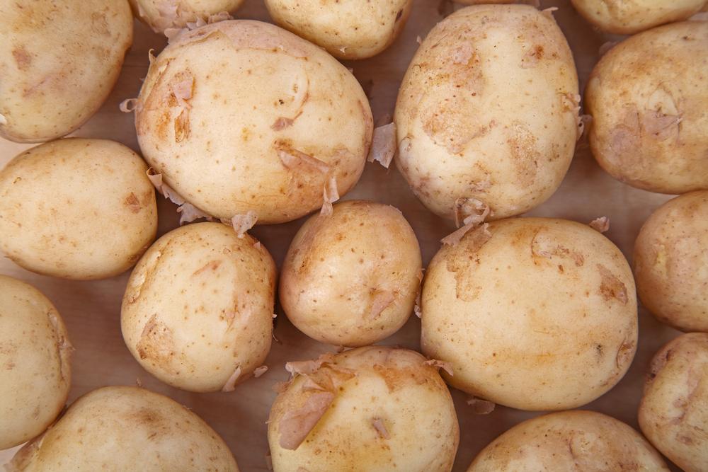 New Prince Edward Island potatoes.