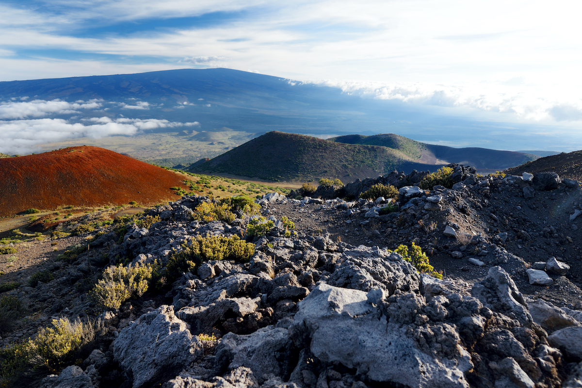 Mauna Loa volcano.